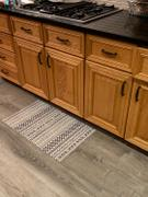Dwell and Good  Aztec Bands Vinyl Kitchen Rug Review