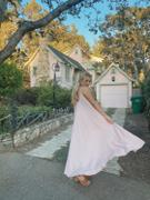 Silk & Salt GO WITH THE FLOW OVERSIZED MAXI DRESS - PASTEL PINK Review