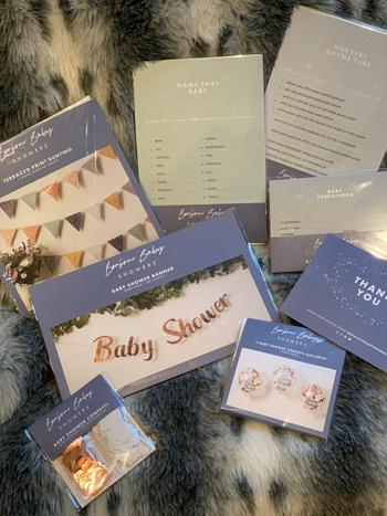 Bonjour Baby Showers BABY SHOWER IN A BOX Review