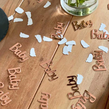 Bonjour Baby Showers Baby Shower Confetti Review