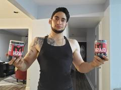 Tiger Fitness Clash® Fully Loaded Pre-Workout - 20 Servings / Fruit Chew Review