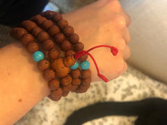 Dharma Shop Raktu Seed and Turquoise 108 Mala Review