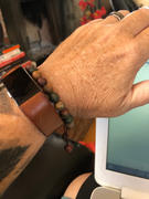 Dharma Shop Matte Riverstone Wrist Mala Review
