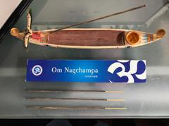 Dharma Shop Om Nagchampa Incense Review