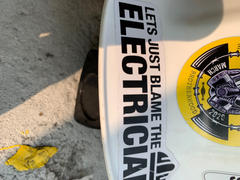Construction Fails Power is Out - Hard Hat Sticker Review