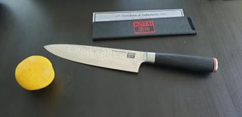KOTAI Gyuto Chef Knife - Hammered Blade Review