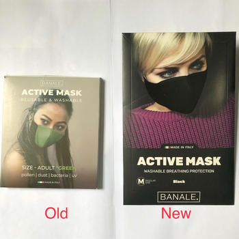 Urban Traveller & Co. Banale Active Mask Adult Black Series Review
