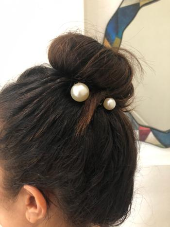 KITSCH Pearl Bun Twist Review