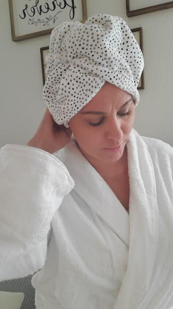 KITSCH Microfiber Hair Towel - Leopard Review