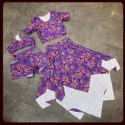 BOO! Designs Spandex Glitter Butterflies Sunset Review