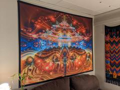 Pumayana Psychedelic Wall Decor | Trippy Cosmic Tapestry | PsyCircus Review