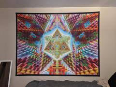 Pumayana Psy Art | Psychedelic Wall Tapestry | Travelling The Multiverse Review