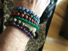 Wild In Africa® 'Down To Earth' Stack (African Turquoise, Red Jasper, Jade) Review
