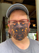 SpiritualShirt Tribal Lion Face Mask Review