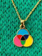 Yellow Owl Workshop RGB CMYK Color Wheel - Double Sided Pendant Review