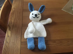 Deramores Rabbit Flat Toy in Patons Fab DK Review
