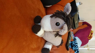 Deramores Dera-donkey and Dera-horse Dougie & Hettie Crochet Kit and Pattern Review