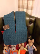 Deramores Eve Fishtail Scarf in West Yorkshire Spinners Exquisite 4 Ply Review
