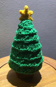 Deramores Desk Christmas Tree Knitting Kit and Pattern in Deramores Yarn Review