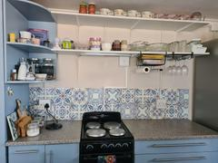 Tilevera Blue Medley Tile Decals Review