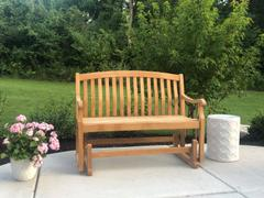 Cambridge Casual Vermont Solid Teak Wood Outdoor Glider Bench Review