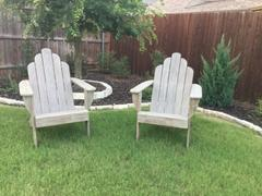 Cambridge Casual Richmond Weathered Teak Wood Adirondack Chair Review