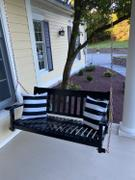Cambridge Casual Moni Solid Wood Black Porch Swing Review