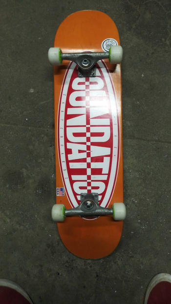 Garage Skate Shop Oval 8.25 Deck Review