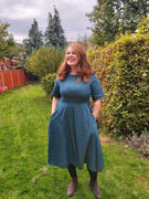 The Assembly Line Shop TULIP DRESS PATTERN Review