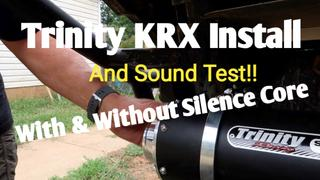 Rad Parts KRX 1000 Slip On Exhaust by Trinity Racing Review