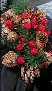 Sporal Pinecone Red Berry Garland String Light Review