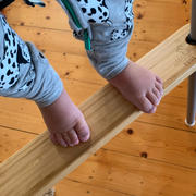 nibbleandrest Pre order- Footsi® - Eco-friendly Bamboo Adjustable Highchair Footrest - The Woodsi Footsi™ Review