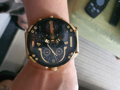 MODE STORE Diesel Mr. Daddy 2.0 Chronograph Watch DZ7333 - Black/Gold Review