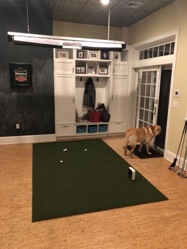 The Net Return Pro Turf Golf Mat Our 1 Golf Simulator Mat