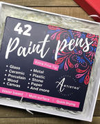 Artistro 42 Acrylic Paint Pens for Rock Painting, Ceramic, Wood, Glass, Paper, Metal & more (Extra Fine Tip) Review