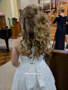 Princessly Backless Ivory Lace Wedding Flower Girl Dress Review