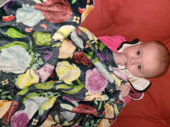 audrey-and-bear Forest Foxes | Swaddle Blanket Review