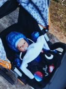 audrey-and-bear Blast Off | Car Seat Blanket Review