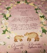 audrey-and-bear Blush Bouquet | Adult Size Blanket Review
