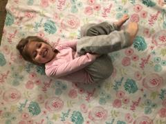audrey-and-bear Beautiful Blossoms | Big Kid Blanket Review