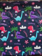 audrey-and-bear Dinosaur Dreams | Big Kid Blanket Review