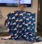 audrey-and-bear Lost in Space | Big Kid Blanket Review