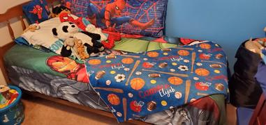 audrey-and-bear Jungle | Big Kid Blanket Review