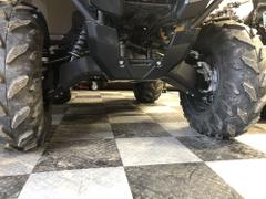 Ricochet Off-Road 5-Piece Aluminum A-Arm & CV Boot Guard Set, Yamaha Kodiak 700 Review