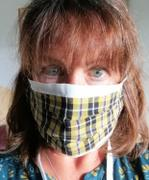 Kernow Queen Cornish Tartan Cloth Face Mask with Filters - Free Shipping Review