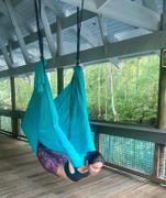 UpCircleSeven Yoga Hammock Blue Review