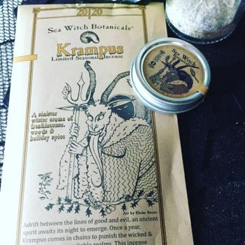 Sea Witch Botanicals All-Natural Incense: Krampus Review