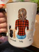 Light & Shine Personalized Dog Mom Mug Review