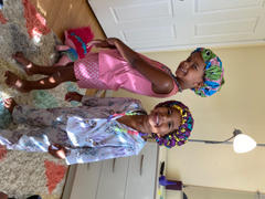 Bella Galore & Co. Kids Adjustable African Print Bonnets Review