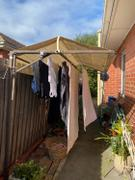 Australian Made Clotheslines Folding Frame Clothesline Cover Review